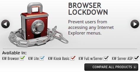 KioWare Kiosk Software Comparison