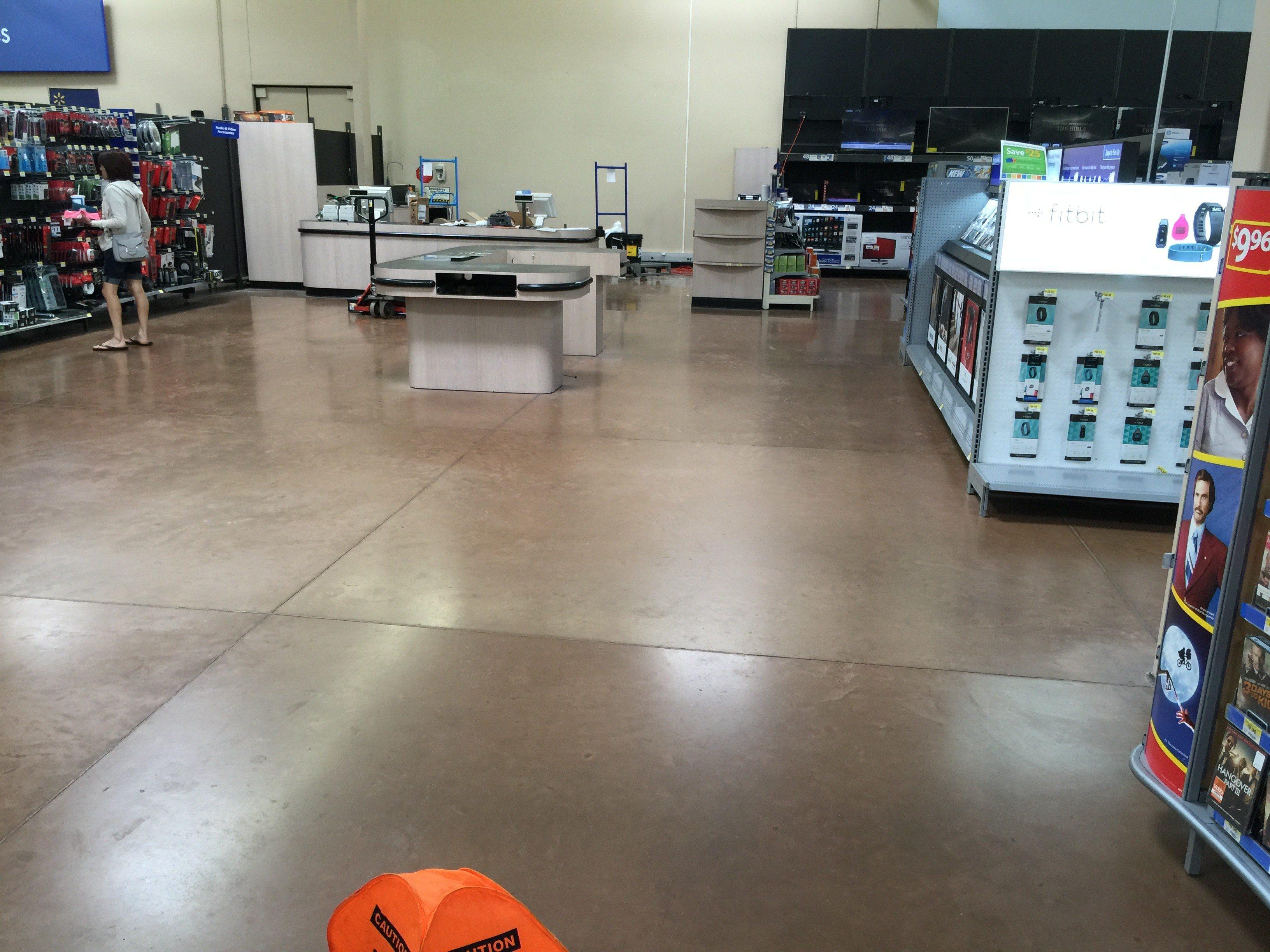 Walmart Photo printing kiosk