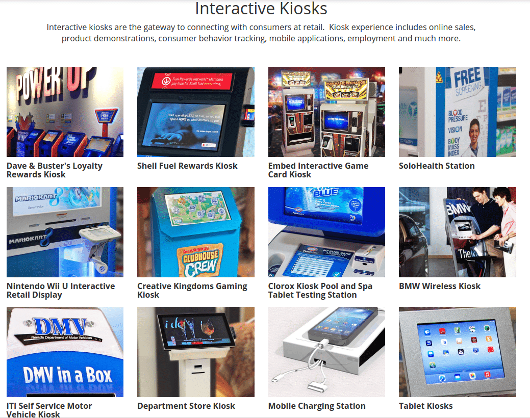 Frank Mayer and Associates, Inc. Interactive Kiosks