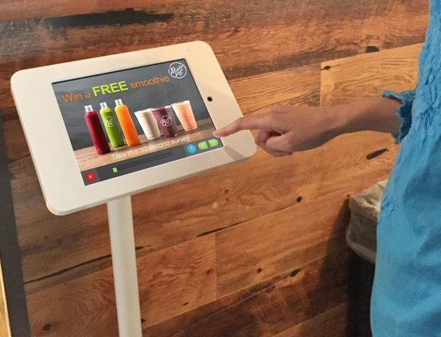 survey kiosk