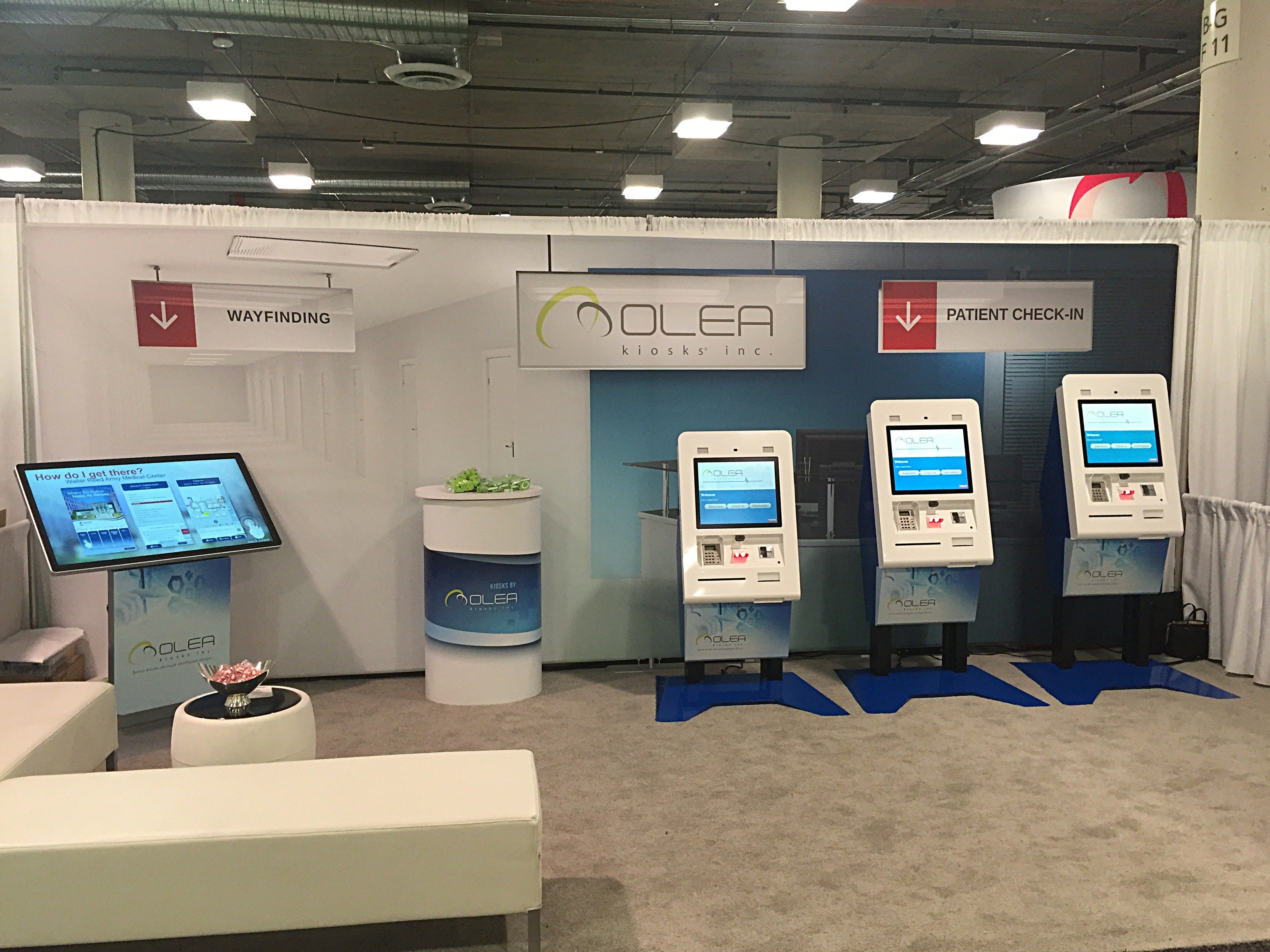 Olea himss booth