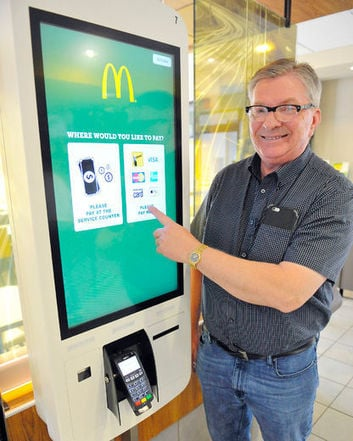 mcdonalds kiosk