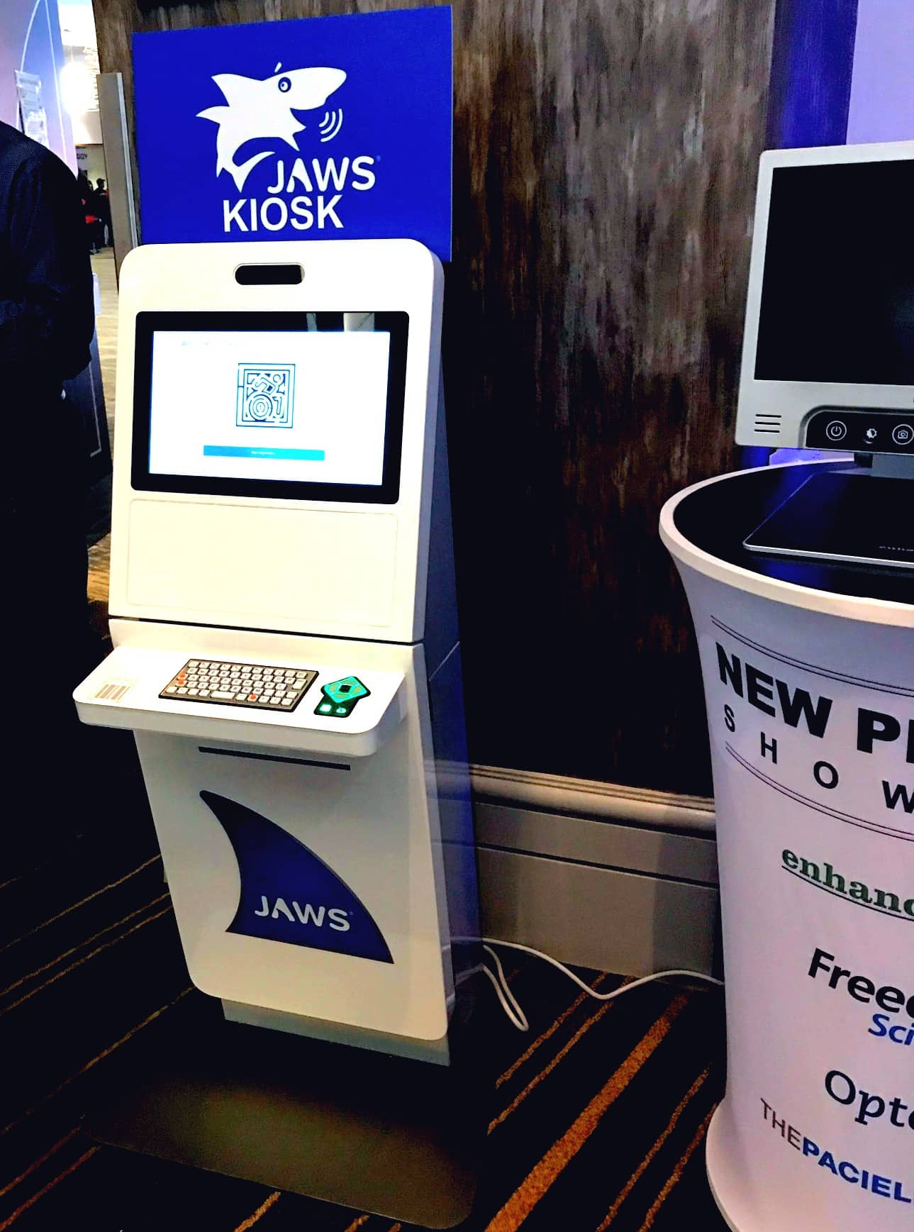 KIosk Meaning KIosk Definition What Is image - Courtesy JAWS Accessibility software Vispero and Olea Kiosks