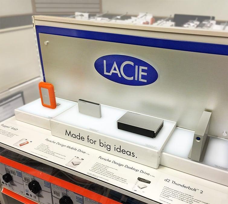 in-store merchandising display