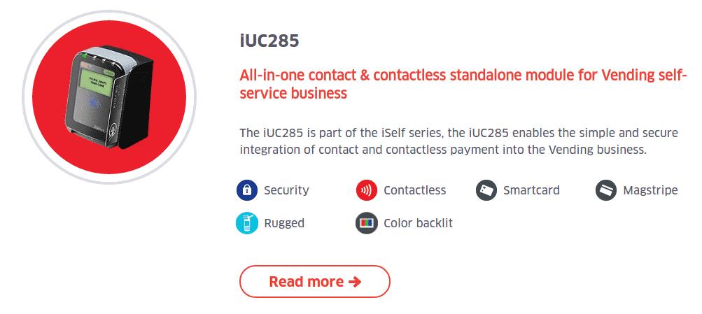 Ingenico iUC285