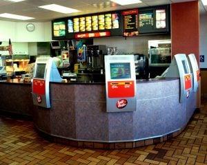 McDonalds kiosk ordering circa 2005 test.