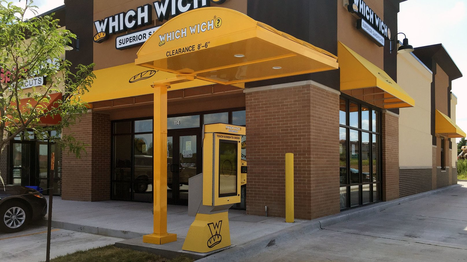 Which Wich Order Kiosk