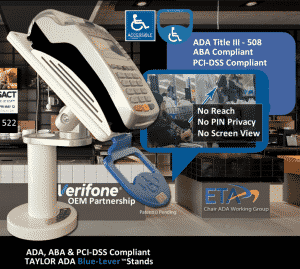 ADA kiosk for POS