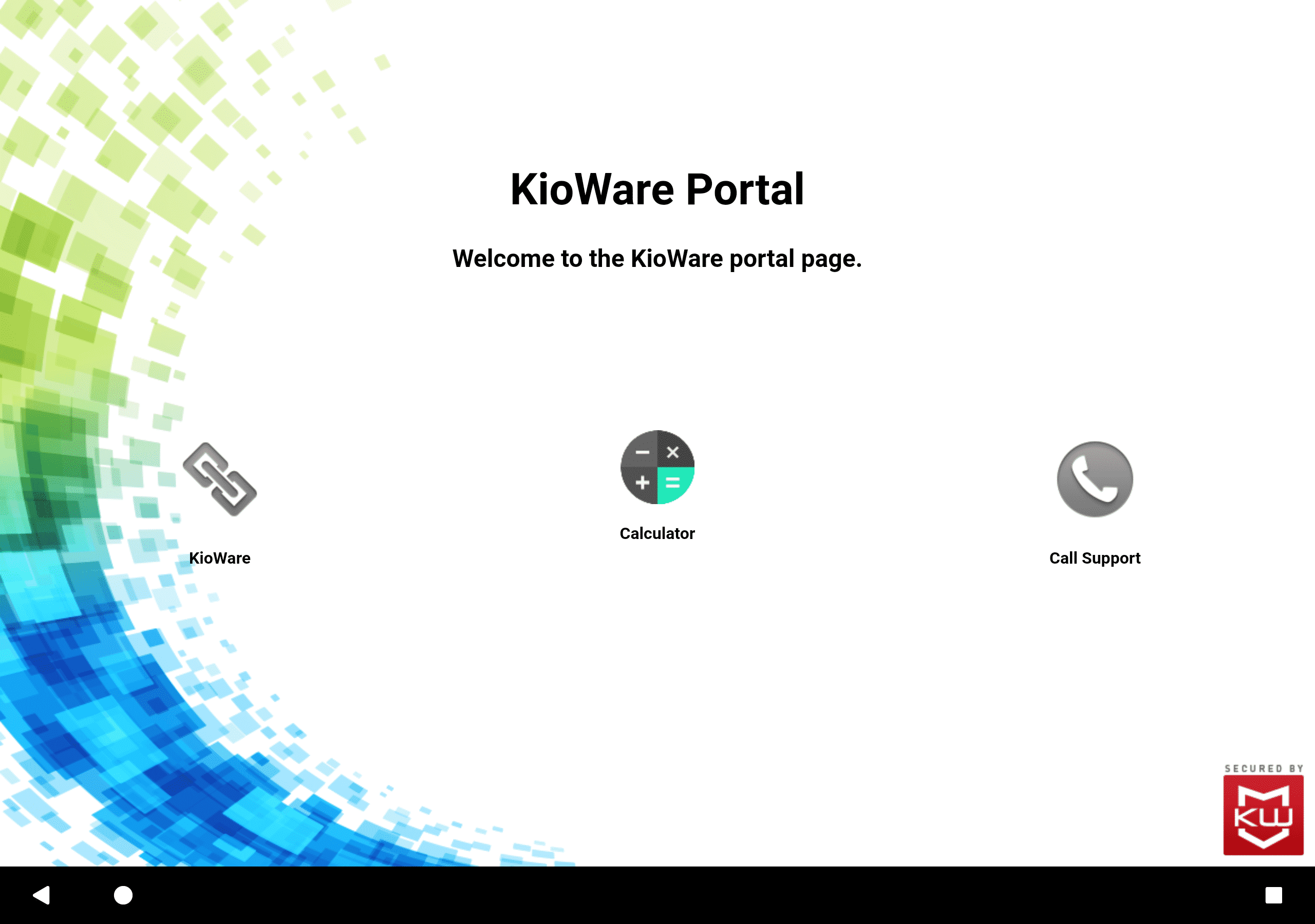 Android Custom Start Page