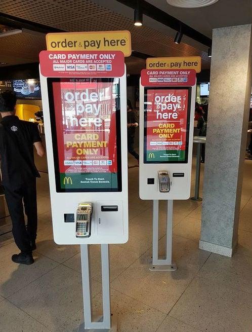 McDonalds Kiosk Malaysia