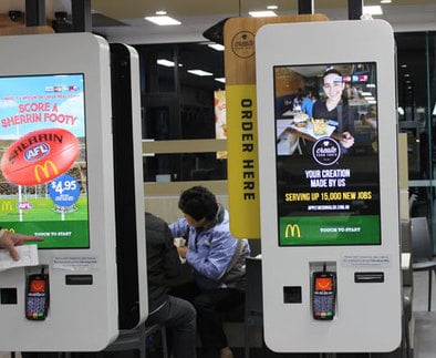 Self-Serve Kiosks Boost Sales