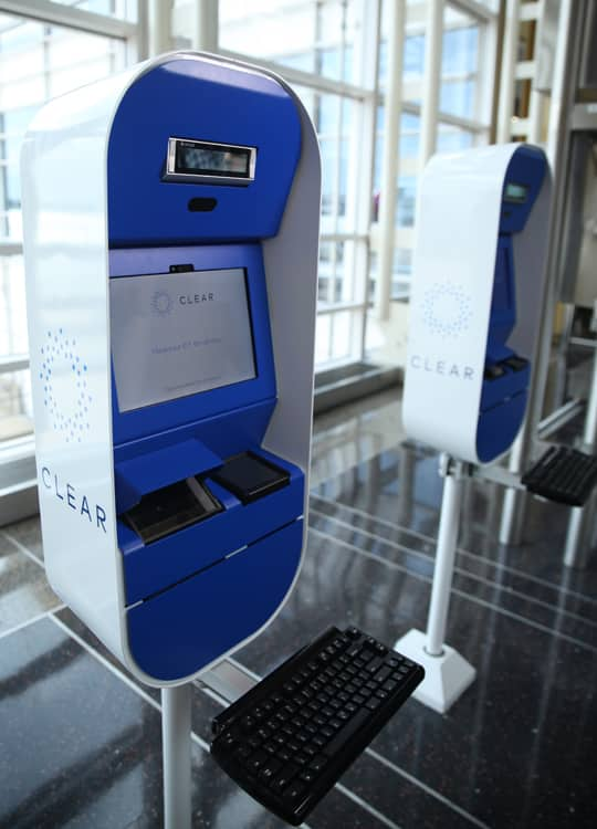 CLEAR Check-In Kiosk