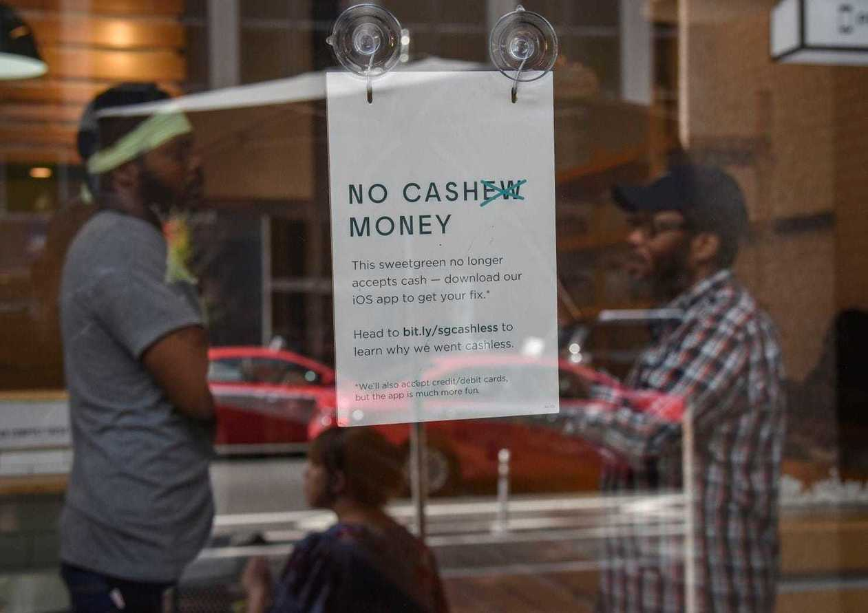 Cashless Restaurants
