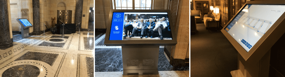 Peerless-AV Government kiosks