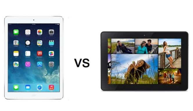 ipad or android tablet