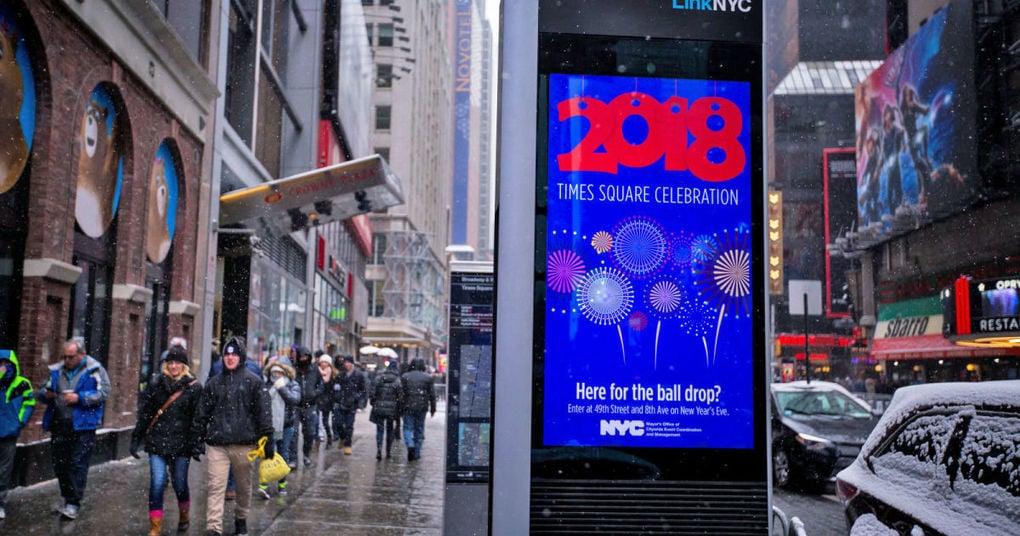 New York City WiFi kiosks