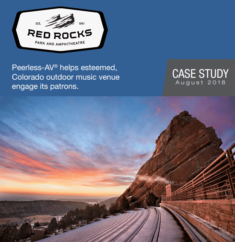 digital signage red rocks case study