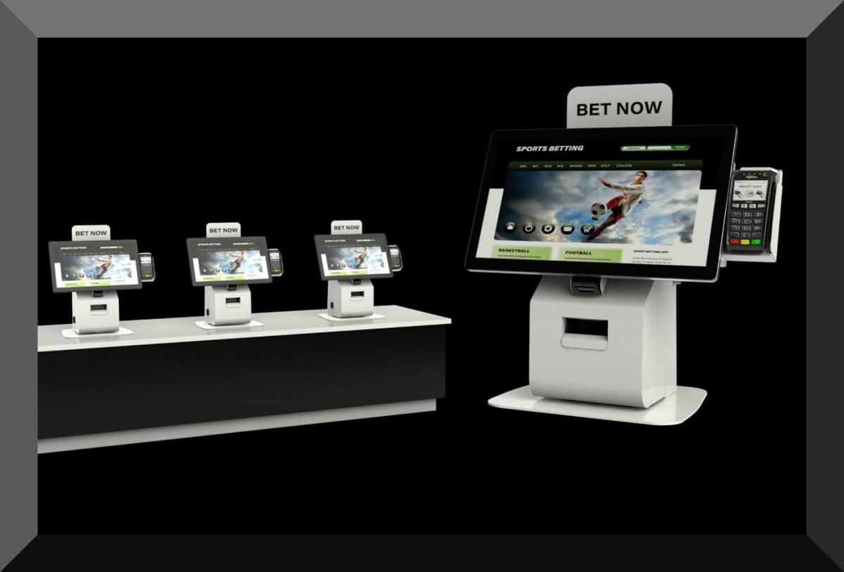 sports betting kiosk Olea countertop