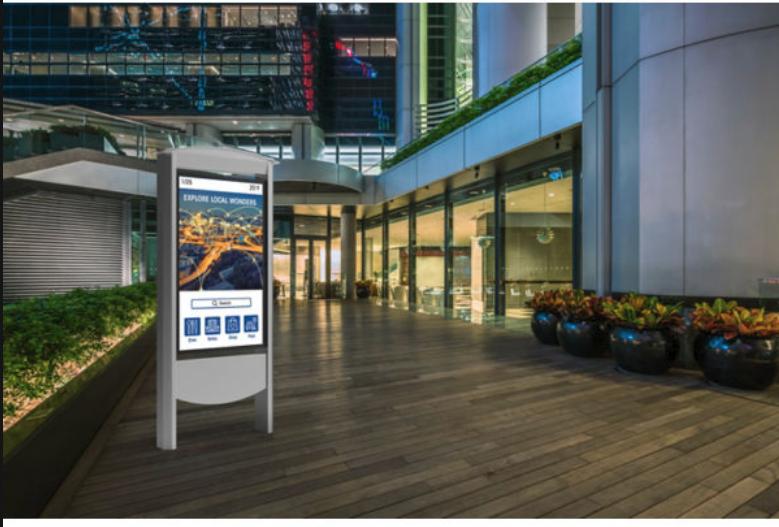 peerless-av smart city kiosk image
