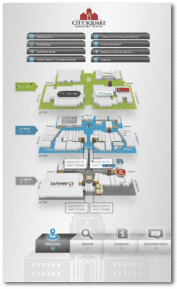 digital wayfinding qwickway by qwickmedia