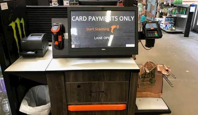Home Depot Self-Checkout Kiosks