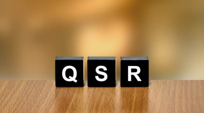 Five Top Trends in QSR 2019