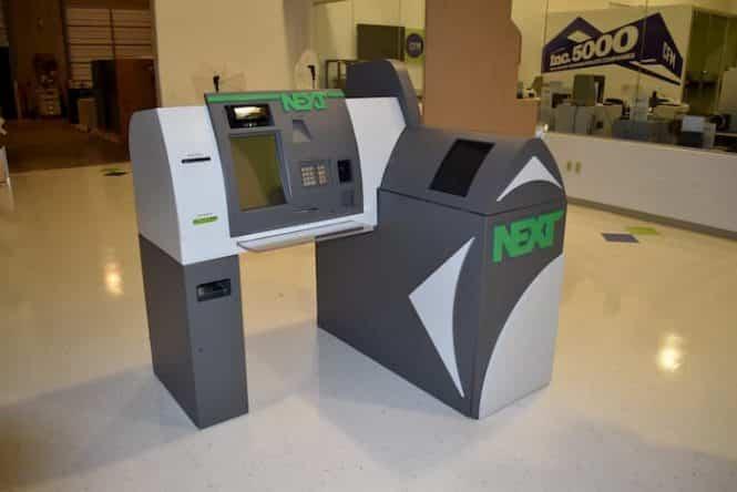 Bank transformation kiosk