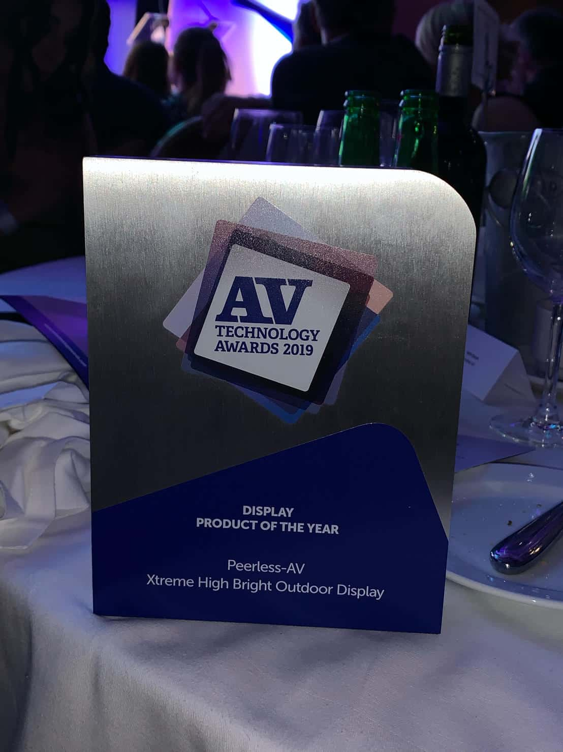 AVT Technology Awards Peerless-AV
