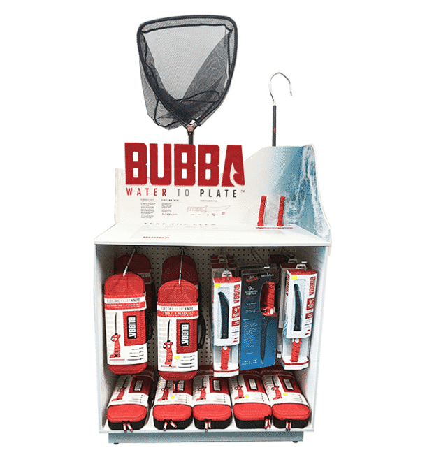 merchandise Display Bubba
