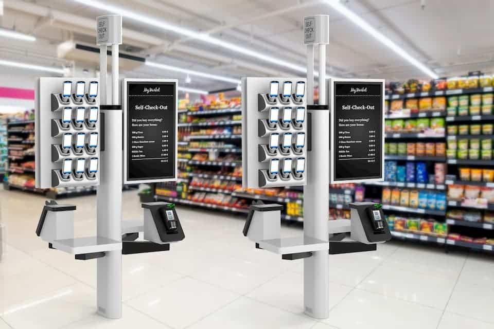 self-scan kiosk