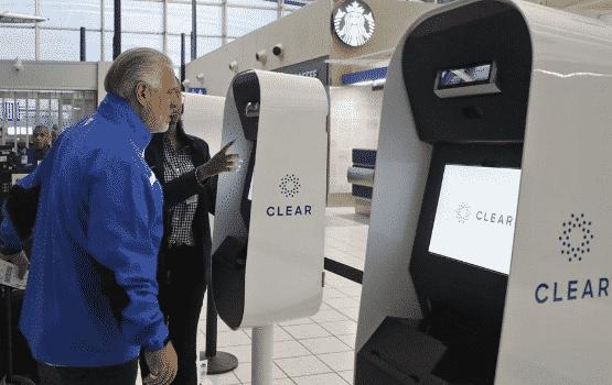 CLEAR Biometric Kiosks St. Louis