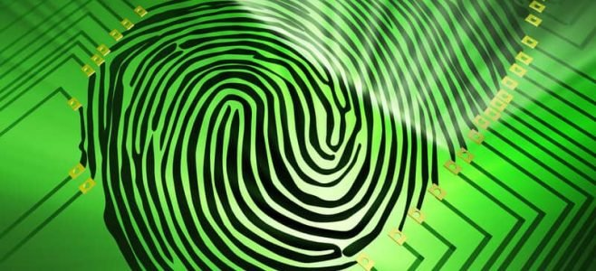 biometric fingerprint