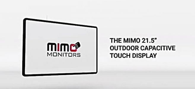 Mimo outdoor display