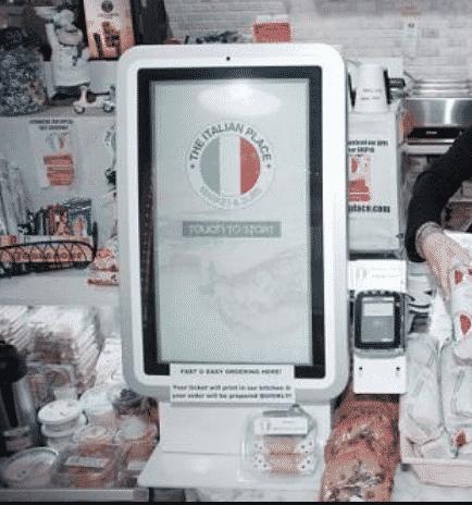 Italian kiosk image