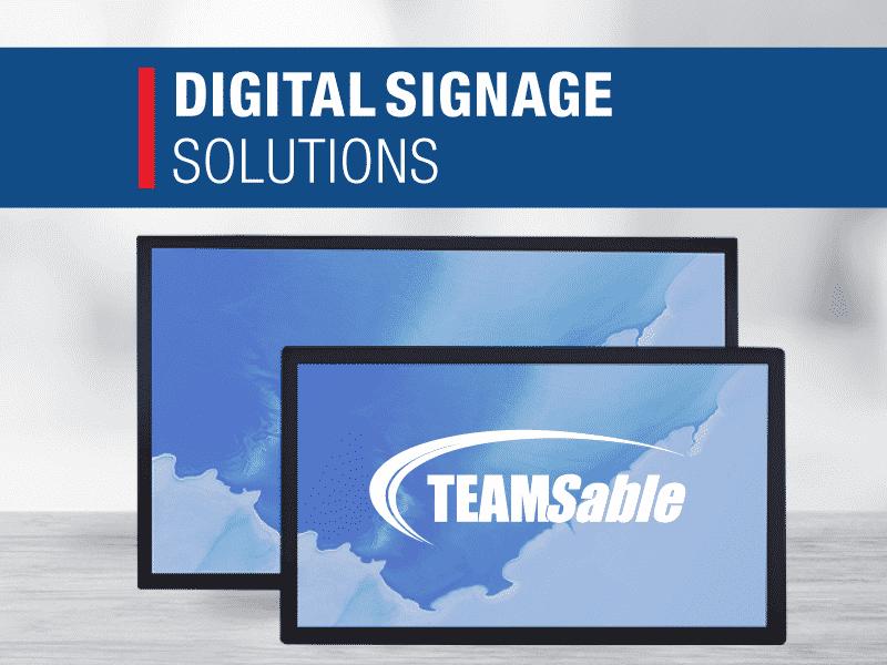 Digital Signage TeamSable