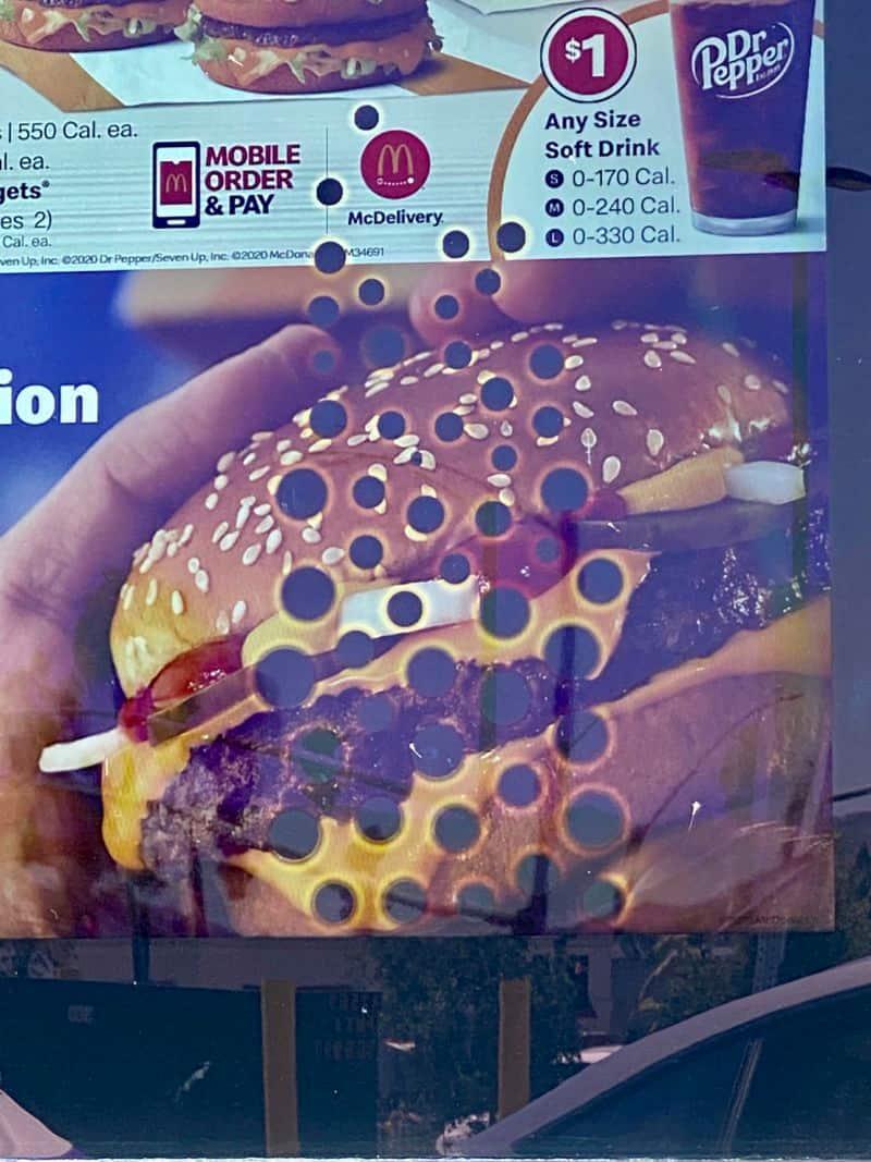 McDonalds Drive-Thru Menu Board Failures