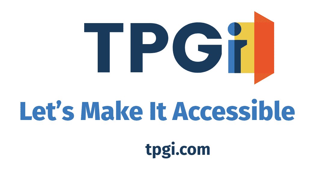 TPG Interactive accessibility